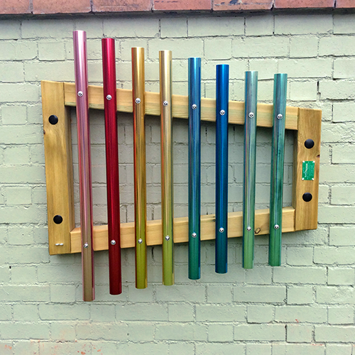 Rainbow Chimes Wall Mounted
