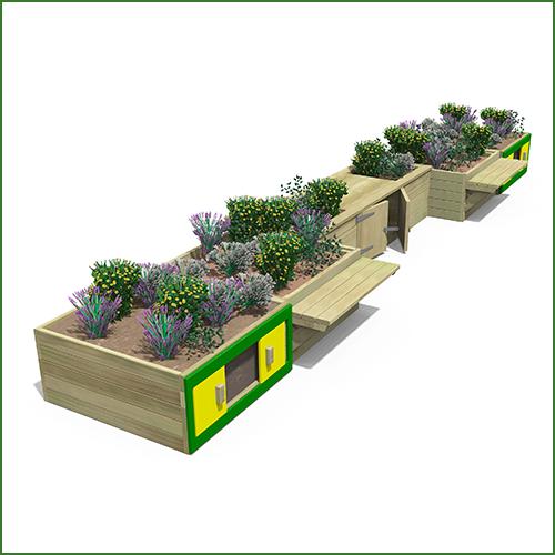 Classic-Planter-Garden-Combination