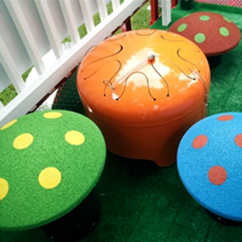 Rubber Mushroom Seats