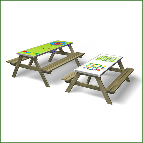 GameZtop Game Picnic Table