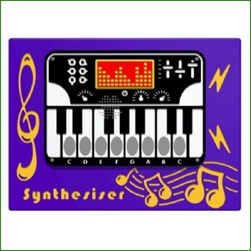 Synthesiser Musical Play Panel