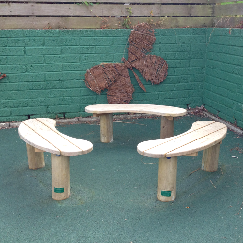 Outdoor Seating Opus Bench