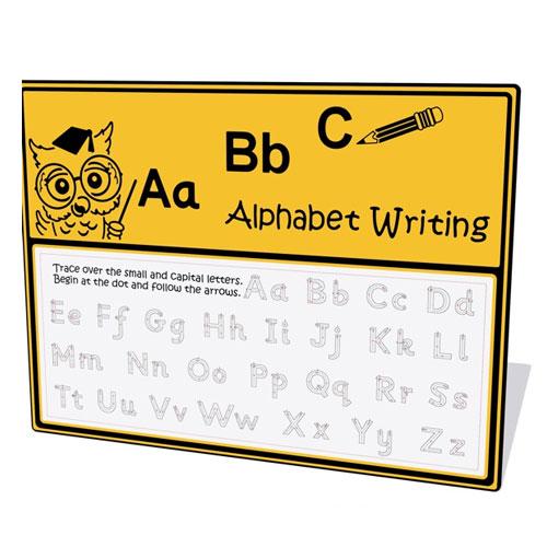 Alphabet Writing Play Panel