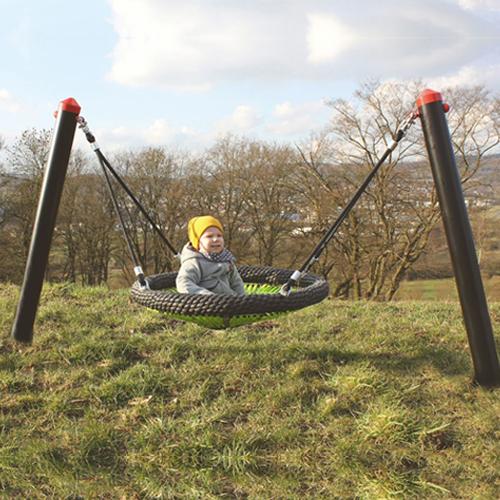 Bird's Nest Mini Cradle for Young Children