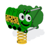Cecil Caterpillar Minibeast Spring Rocker
