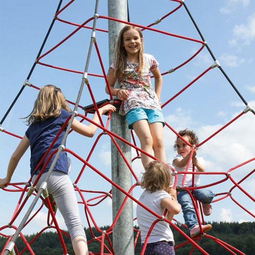 Spider Pyramid 4-4 Rope Climber