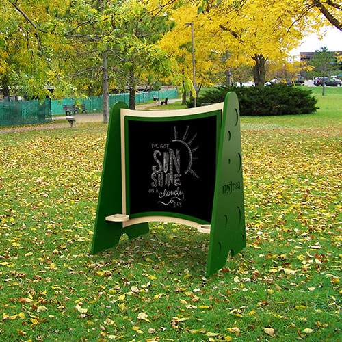 Single Chalkboard Natural