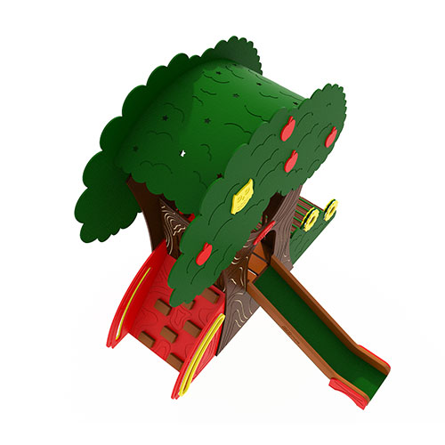 Tree House Render 3
