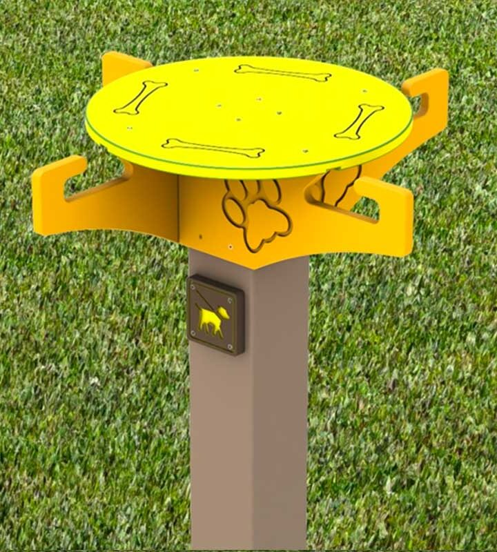 Dog Leash Holder for Parks