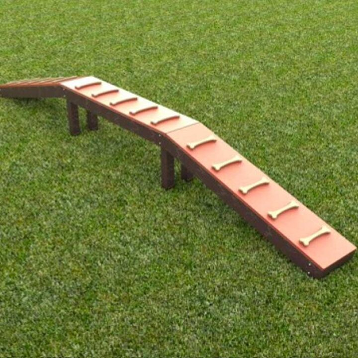 Walk The Plank - Dog Play Park Equipment