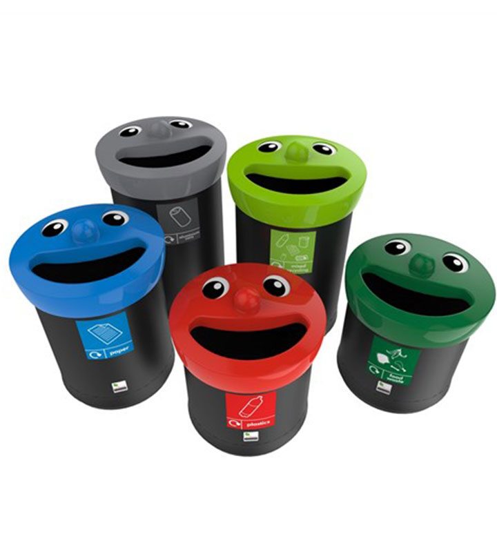 Envirobin Multi-Color Bins