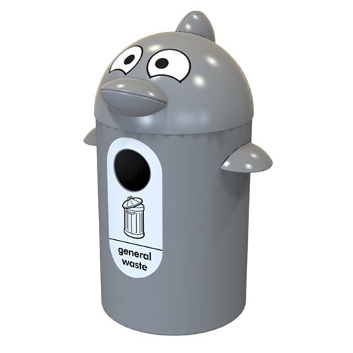 Dophin Themed General Waste Bin