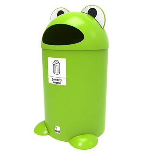 Frog Litter Bin - General Waste