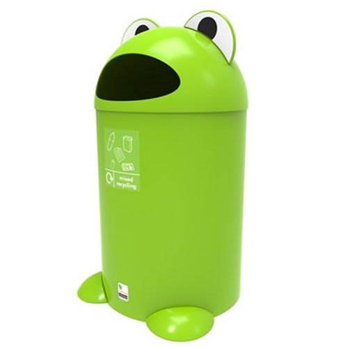 Frog Litter Bin - Mixed Recycling