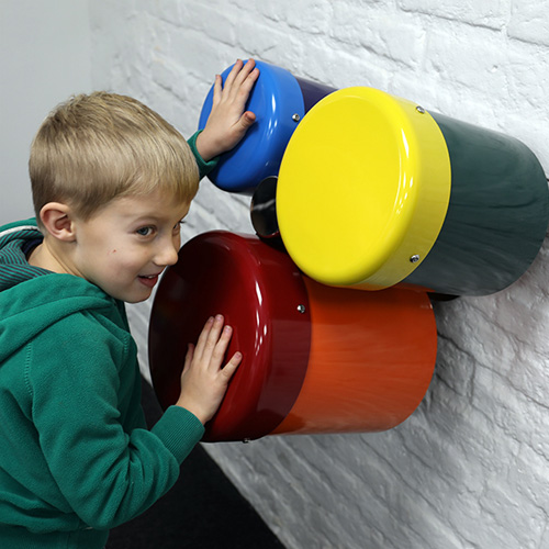 Rainbow Trio Ensemble - Wall Mounted Drums