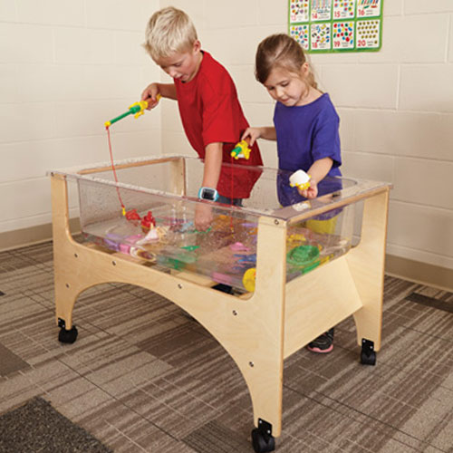 See Thru Sensory Table with Water