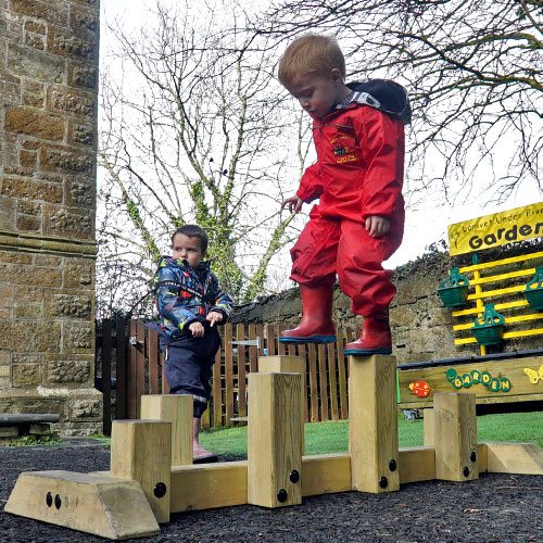 Early Years Freestanding Step Challenge